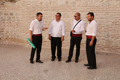 Tourist Attraction In Croatia / Klapa Singers Royalty Free Stock Photos