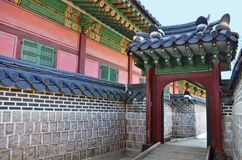 Changdeokgung Palace is the most well-preserved of royal Joseon palaces. Stock Images