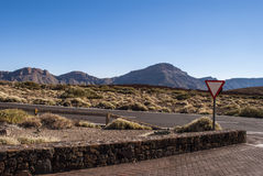 Tourist attraction - Teide National Park Stock Images