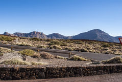 Tourist attraction - Teide National Park Stock Photography