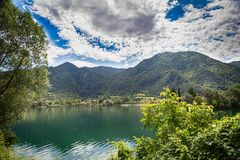Free Tourist Attraction With Beatiful View Of Lake Of Idro In North Of Italy Royalty Free Stock Photo - 160147125