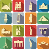Tourist attractions Royalty Free Stock Photos