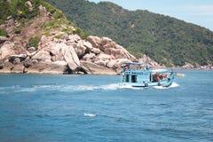 Tourist auf Koh Tao Thailand Lizenzfreies Stockbild