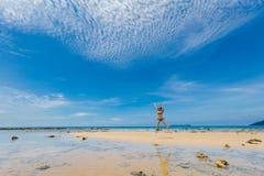 Tourist auf Tioman-Insel Malaysia Lizenzfreies Stockbild
