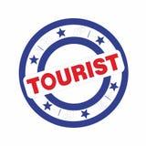 Tourist badge Royalty Free Stock Photo