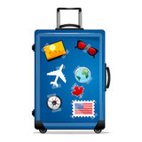 Tourist bag Royalty Free Stock Photos