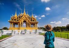Tourist in the Bangkok Stock Photos