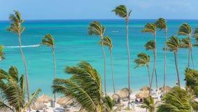 Tourist beach attraction, Aruba stock footage