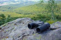 Tourist binocular Stock Images