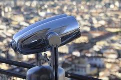 Tourist binoculars royalty free stock image