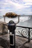 Tourist Binoculars. Pay-per-view binoculars at a tourist waterfalls Royalty Free Stock Photo