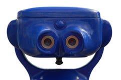 Tourist binoculars Stock Photography