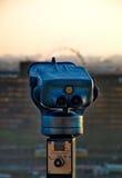 Tourist binoculars at Budapest Royalty Free Stock Photography
