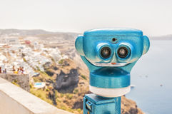 Tourist Binoculars Stock Images