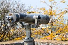 Tourist binoculars Stock Image