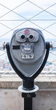 Tourist binoculars Royalty Free Stock Photo