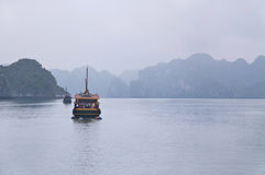 Tourist Boat, Halong Bay Royalty Free Stock Image