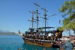 Tourist Boat near Kemer, Turkey Royalty Free Stock Photo