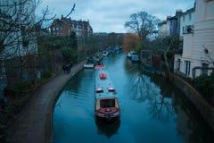 Camden Lock blue, London. royalty free stock photo