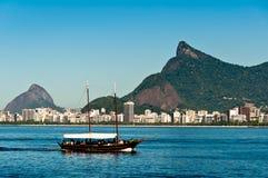 Tourist Boat in Rio de Janeiro Stock Photo