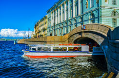 The tourist boat Stock Photo