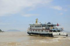 Tourist Boat to Putuoshan Stock Image