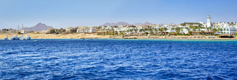 Tourist boat trip around the Sinai on the yacht, Red sea, Sharm Royalty Free Stock Images