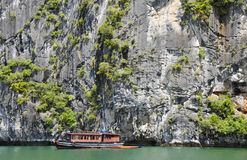 Tourist boats in Halong Bay, Vietnam Stock Photography