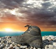 Tourist boot Royalty Free Stock Photo
