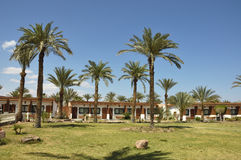 Tourist bungalows in Sinai. Stock Photo