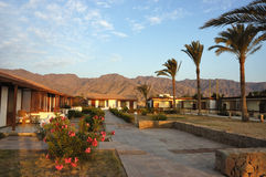 Tourist bungalows in Sinai. Stock Photography