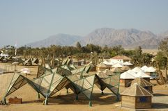 Tourist bungalows in Sinai. Stock Images