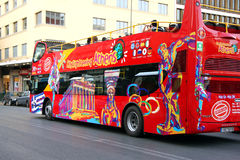 Tourist Bus in Athens Stock Images