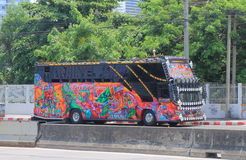 Tourist bus Bangkok Thailand Stock Photography