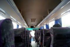Tourist bus car landscape Royalty Free Stock Images