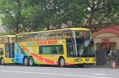 Tourist bus Hato Tokyo Japan Royalty Free Stock Photo