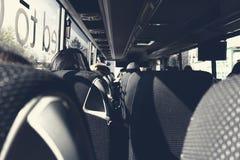 Tourist Bus Interior Royalty Free Stock Image