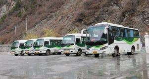 Tourist bus Stock Photography