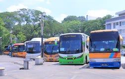 Tourist Bus Malaysia Stock Image