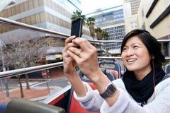 Tourist bus photo Stock Images