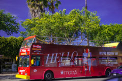 Tourist bus. Royalty Free Stock Photography