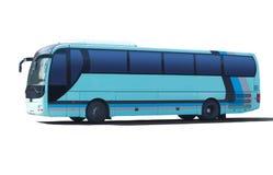 Tourist bus on white Royalty Free Stock Photo