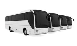 Tourist Buses  Royalty Free Stock Photography