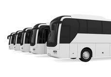 Tourist Buses  Royalty Free Stock Photo