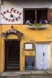 Tourist at a cafeteria in Fort Kochi - India Royalty Free Stock Photography