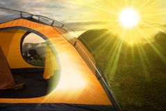 Tourist camp Royalty Free Stock Photography