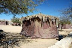 Tourist campground in Negev desert. Stock Image