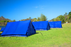 Tourist camping tent Stock Photos