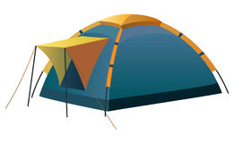 Tourist and camping tent Stock Photography