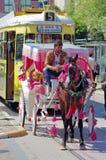 Tourist cart in Antalya Royalty Free Stock Image